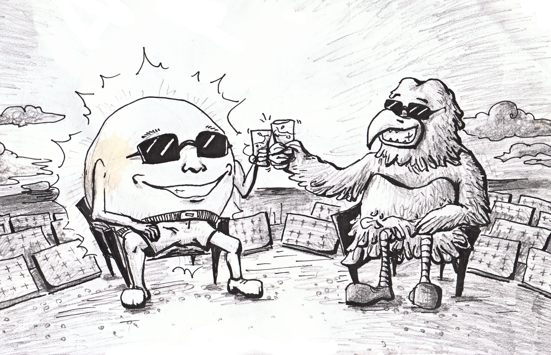 Cartoon by Julie Gundersen