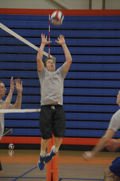 Second-year Brian Smith was named UVC Player of the Week.