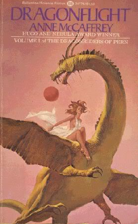 The Last Good Book I Read Dragonflight By Anne Mccaffrey on Planet Pern