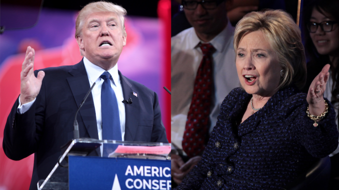 New national poll finds Clinton, Trump neck and neck