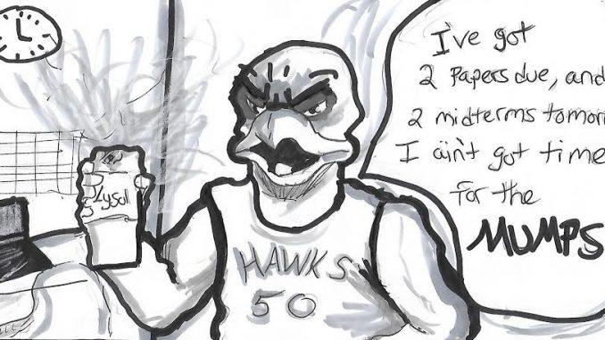 Cartoon by Luke Benicase.