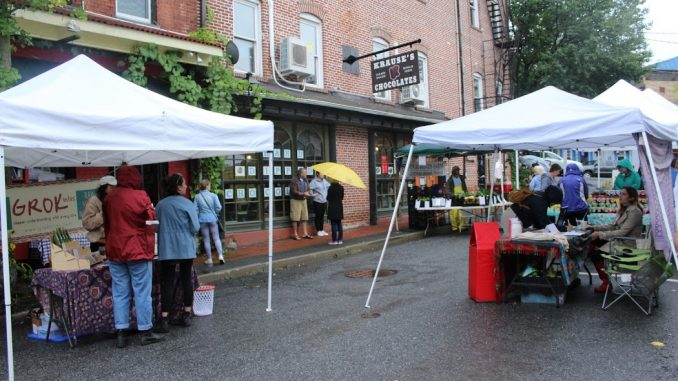 Residents ... & Rain Causes Low Church Street Market Turnout u2013 The New Paltz Oracle
