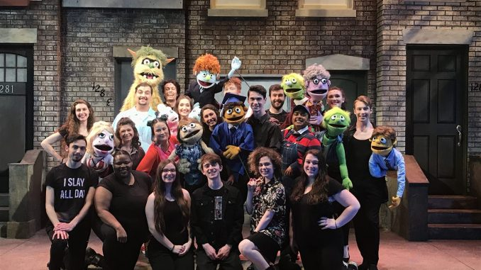 Avenue Q Has Something For You In Its Campus Debut The New Paltz