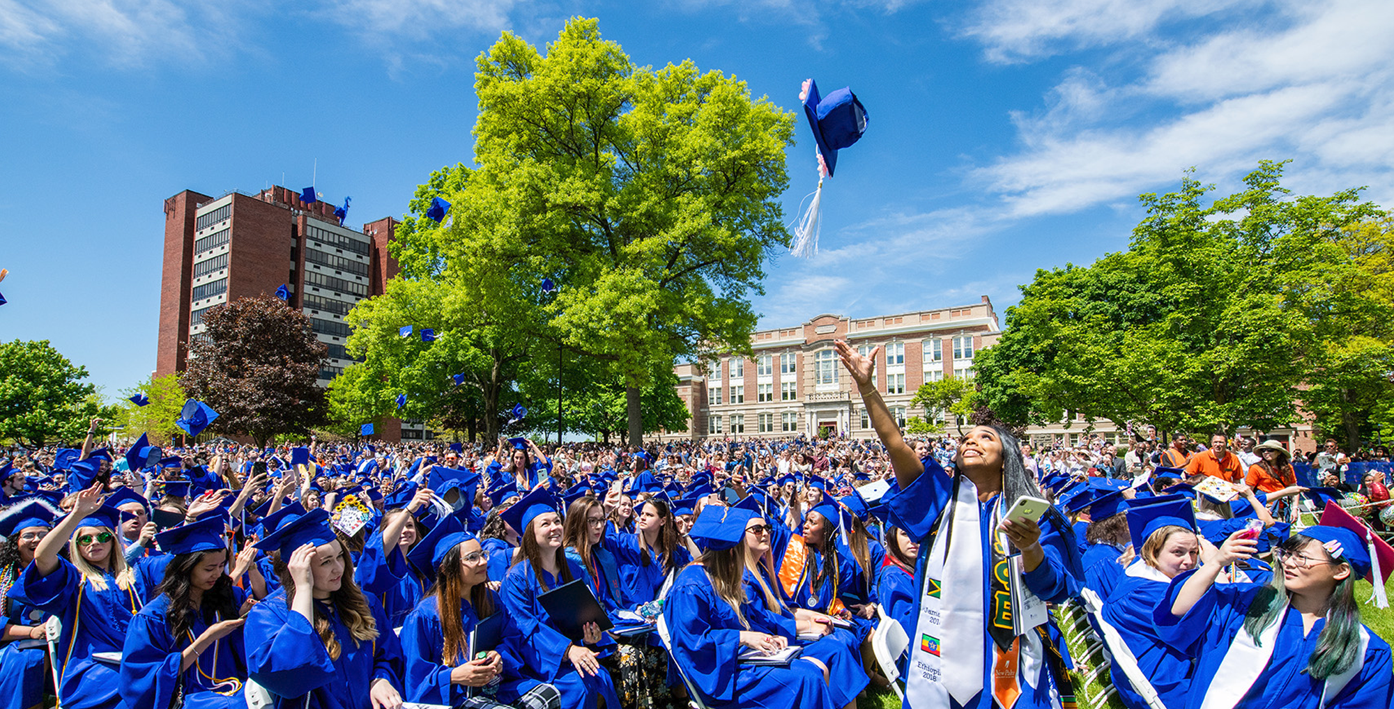 SUNY New Paltz Reschedules Commencement for May 2021   The New