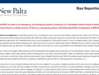 bias reporting form