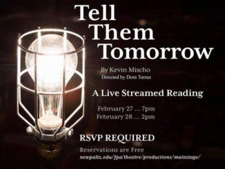 Tell Them Tomorrow SUNY New Paltz
